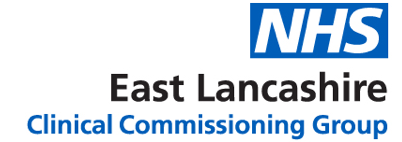 NHS East Lancashire CCG Logo | Click for our homepage